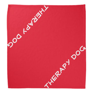 Therapy Dog Bandana