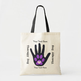 Therapy Dog Team Tote Bag