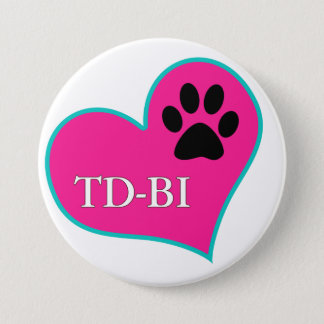 [Therapy Dogs Bloomington Illinois 3 Inch Round Button