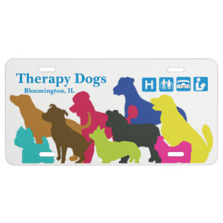[Therapy Dogs Bloomington Illinois] License Plate