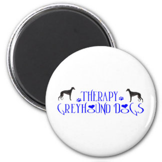 THERAPY GREYHOUND MAGNET