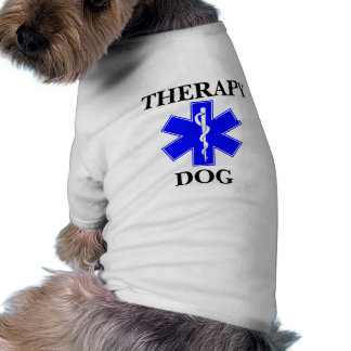 Therapy Service Dog Medical Alert Symbol Tank Top Dog Clothes