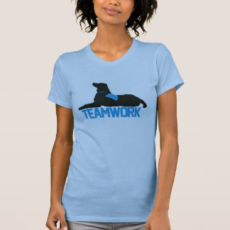 (Therapy) Teamwork Blue Womens Tank
