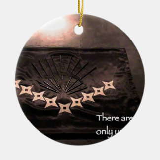 there are no accidents only unrealized purpose ceramic ornament