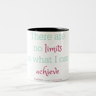 There are no limits to what I can achieve mug