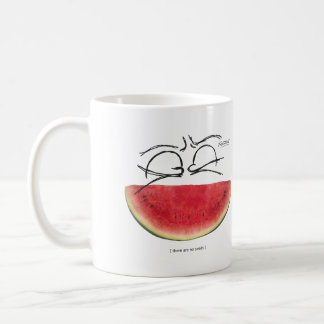 There are no seeds coffee mug