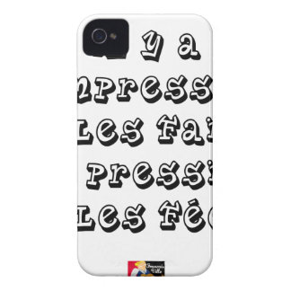 There are the IMPRESSION and the FACTS, the iPhone 4 Cases