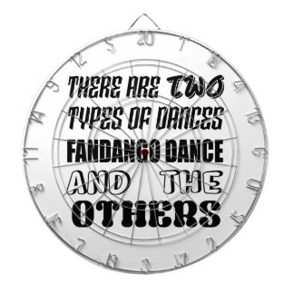 There are two types of Dance  Fandango dance and o Dartboard