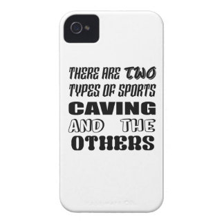 There are two types of sports Caving and others Case-Mate iPhone 4 Case