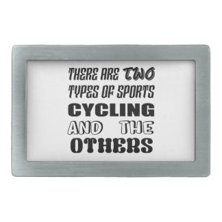 There are two types of sports Cycling and others Belt Buckle
