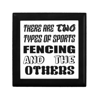 There are two types of sports Fencing and others Gift Box