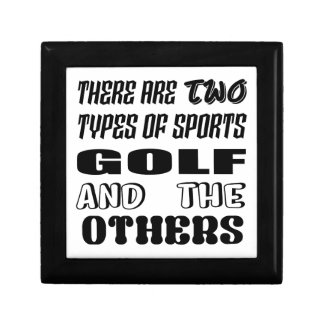 There are two types of sports Golf and others Gift Box