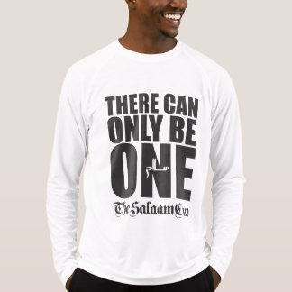 There Can Only Be One: Salaam Cup White Shirt