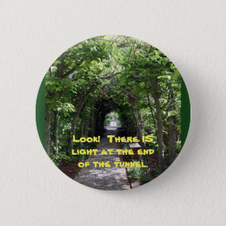 There is light 2 inch round button
