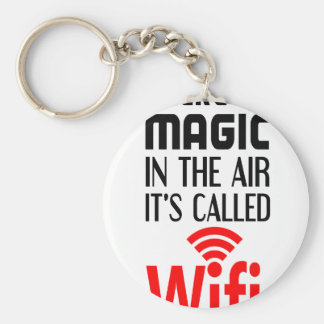 There is Magic In the air it's called wifi Keychain
