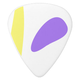 There Is No Accounting for Tastes White Delrin Guitar Pick