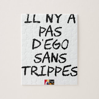 There is no EGO WITHOUT TRIPE - Word games Jigsaw Puzzle