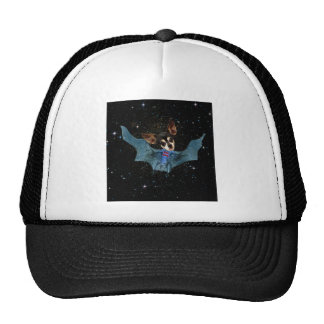 There is no need to fear bat dog is here. trucker hat