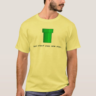 There is No Pipe Video Game T-Shirt