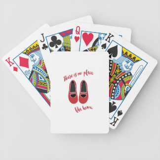 There is no place like home bicycle playing cards