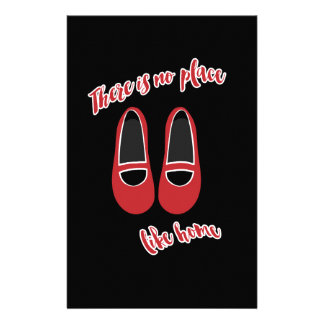 There is no place like home custom stationery