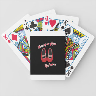 There is no place like home poker deck