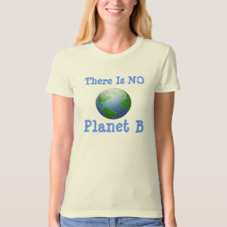 There Is NO  Planet B T Shirt