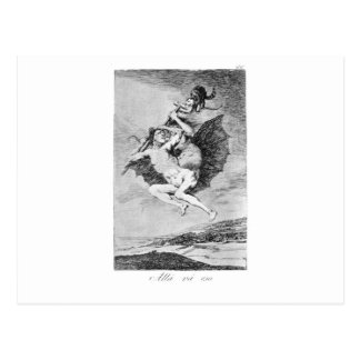 There it goes by Francisco Goya Postcard