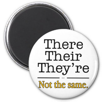 There, Their and They're. Magnet