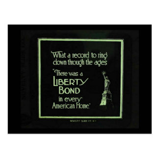 There Was a Liberty Bond in Every American Home Postcard