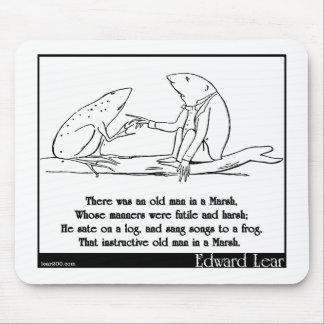 There was an old man in a Marsh Mouse Pads