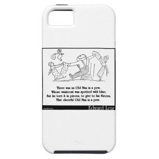 There was an Old Man in a pew iPhone 5 Covers