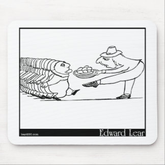 There was an Old Man of Apulia Mousepads
