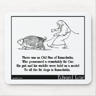 There was an Old Man of Kamschatka Mouse Pad