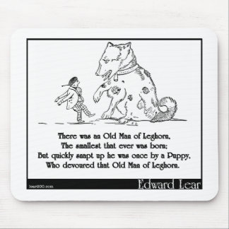 There was an Old Man of Leghorn Mousepads