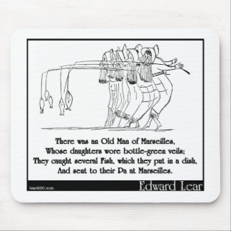 There was an Old Man of Marseilles Mouse Pad