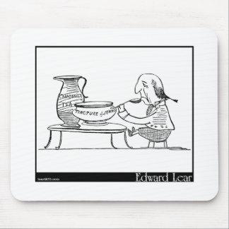 There was an Old Man of Vienna Mousepad