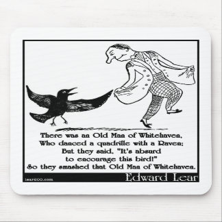 There was an Old Man of Whitehaven Mouse Pads