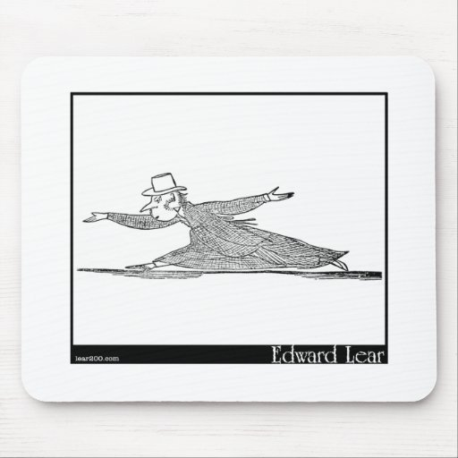 There was an Old Man on a Hill Image Mousepad