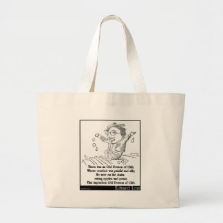 There was an Old Person of Chili Limerick Bag