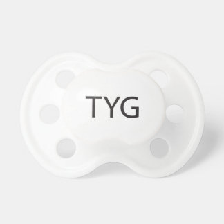 There You Go -or- Thank You God ai Baby Pacifier