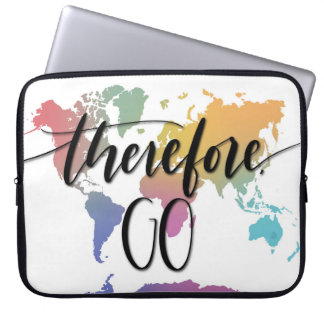 Therefore, Go Laptop Sleeve