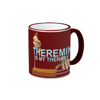 Theremin Therapy Coffee Mugs