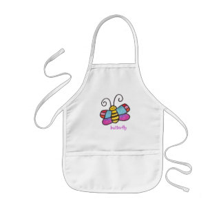 There's A Butterfly On My Apron! Kids Apron