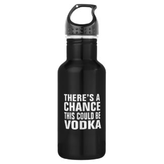 There's a chance this could be vodka 532 ml water bottle