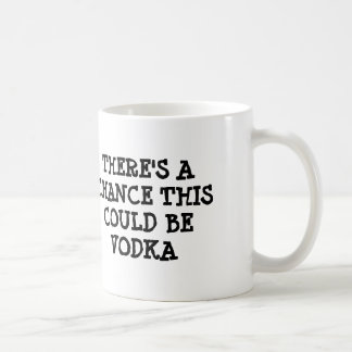 There's a chance this could be vodka coffee mug