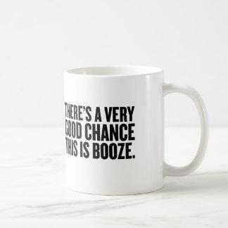 There's a good chance this is  booze mug. coffee mug