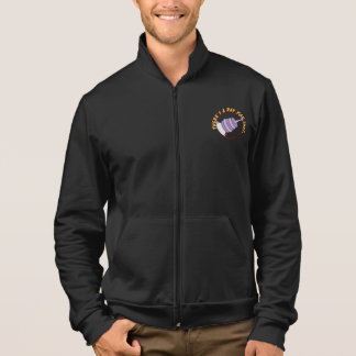 There's a ray for that. men's jogger jacket