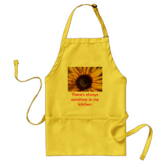 There's always sunshine in my kitchen aprons