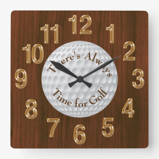 There's Always Time for Golf CLOCK or Change Text